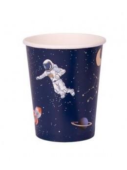 8 Gobelets astronaute
