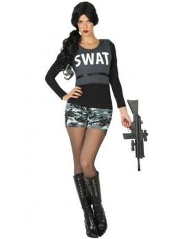 Déguisement policière sexy swat