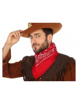 Bandana cowboy rouge