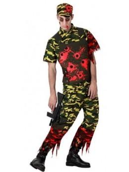 Déguisement Soldat Zombie