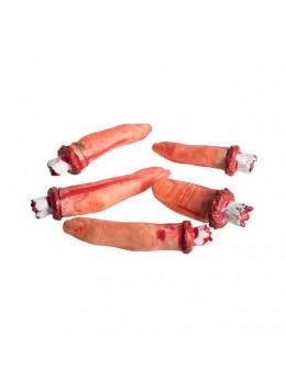 5 doigts coupés sanglants