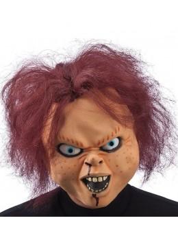Masque latex poupée halloween