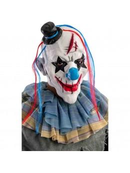 Masque de clown sordide latex