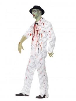 Déguisement gangster zombie