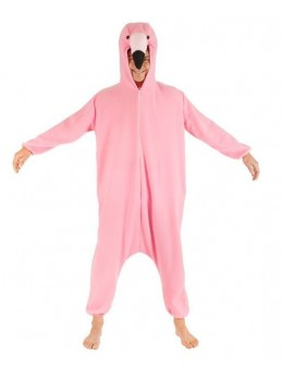 Kigurumi Flamant rose