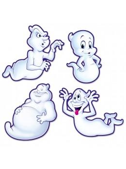 4 Décos gentils fantômes