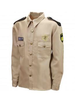 Déguisement chemise Policier US