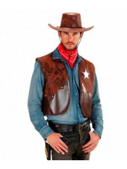 Déguisement gilet de cowboy
