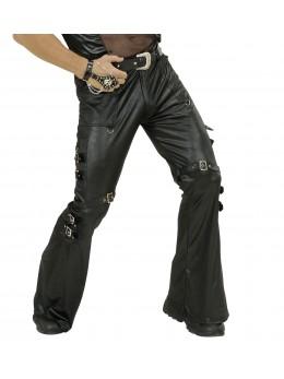Déguisement pantalon rockeur simili