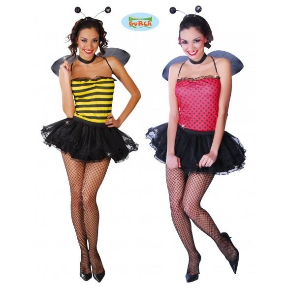 Déguisement abeille/coccinelle sexy