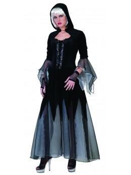 Robe gothique avec capuche