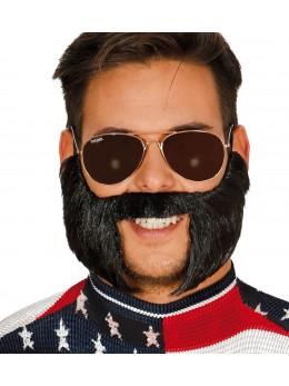 Postiche barbe et pattes