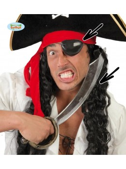 Sabre pirate + cache oeil