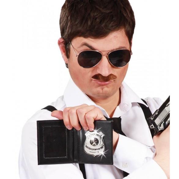 Fausse plaque de policier