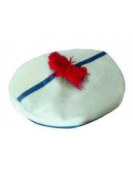 Bérêt marin en tissu