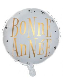"""Ballon alu """" Bonne Année """""""