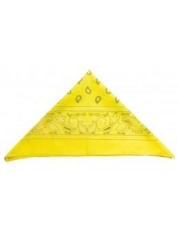 Bandana jaune fluo