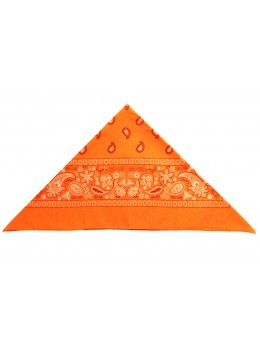 Bandana orange fluo