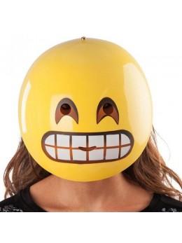 Masque emoticone grimace adulte