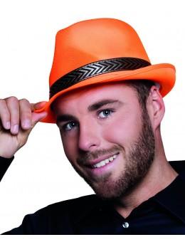 Chapeau Tony polyester orange