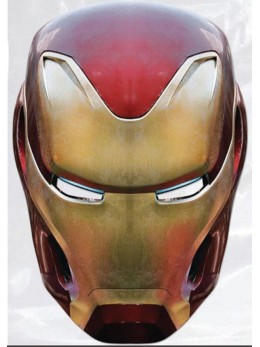 Masque en carton Iron man Avengers Infinity War™ adulte