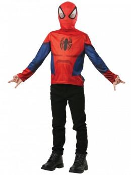 T-shirt avec cagoule Spiderman™ enfant
