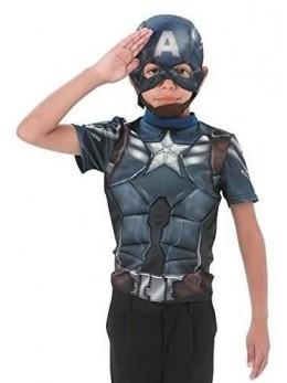 Déguisement plastron Captain America