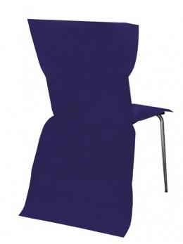 6 Housses de chaises bleu roi