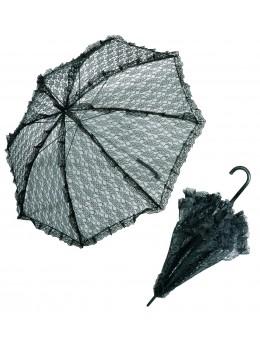 Ombrelle dentelle noire