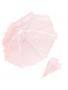 Ombrelle dentelle rose