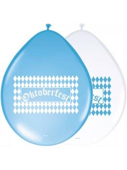 8 ballons Oktoberfest