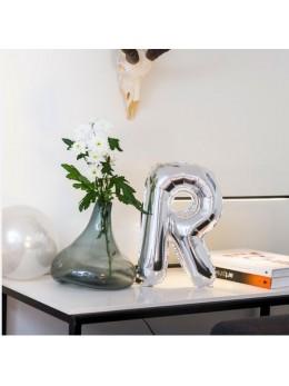 Ballon lettre 36cm de hauteur pour personnalisation de toutes vos décorations de fête.