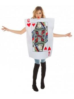 Déguisement jeux de carte Reine de coeur
