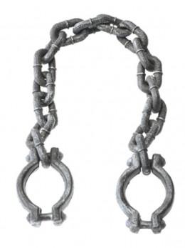 Chaine avec menottes 100cm