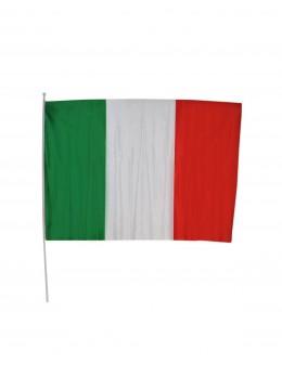 12 drapeaux Italie tissu 15x23cm
