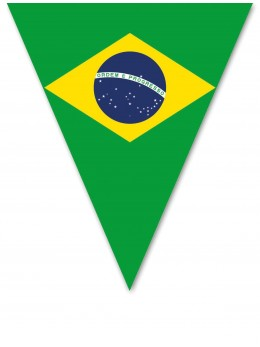 Guirlande  brésil pavillons 5m