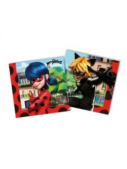 20 Serviettes papier Miraculous Ladybug ™