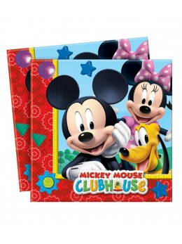 20 Serviettes Mickey playful ™