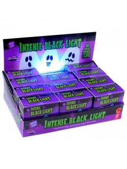 Projecteur stroboscope lumière noire 18 leds Halloween