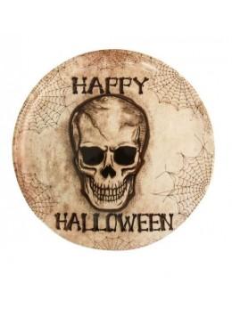 Plateau rond Happy halloween