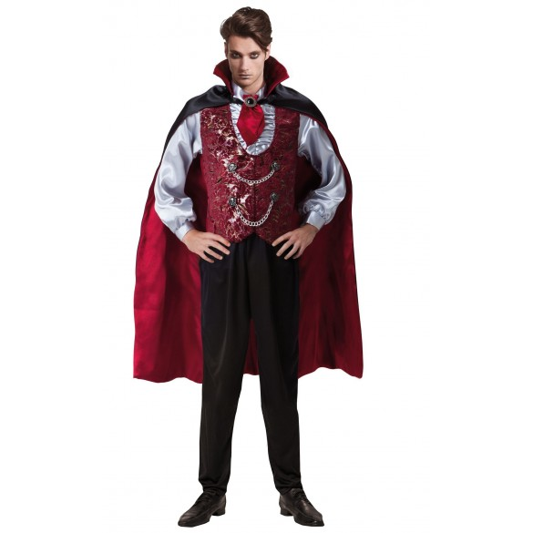 Déguisement vampire aristocrate avec cape