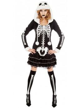 Déguisement sexy squelette