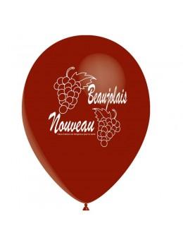 10 Ballon Beaujolais nouveau