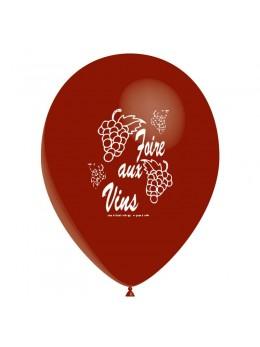 10 Ballons Foire aux vins