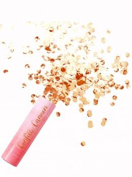 Canon à confetti rose gold 30cm