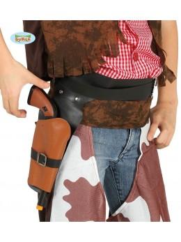 Ceinture avec pistolet cowboy enfant