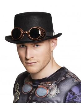 Chapeau haut de forme Steamgoggles