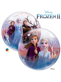 Ballon bulle La Reine des Neiges 56cm