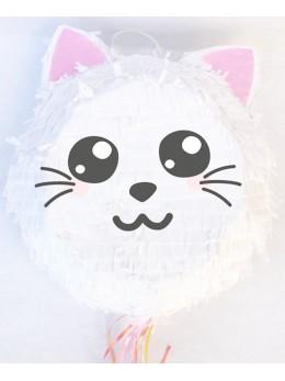 Pinata tête de chat
