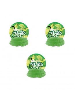 3 Décos alvéolées Mojito